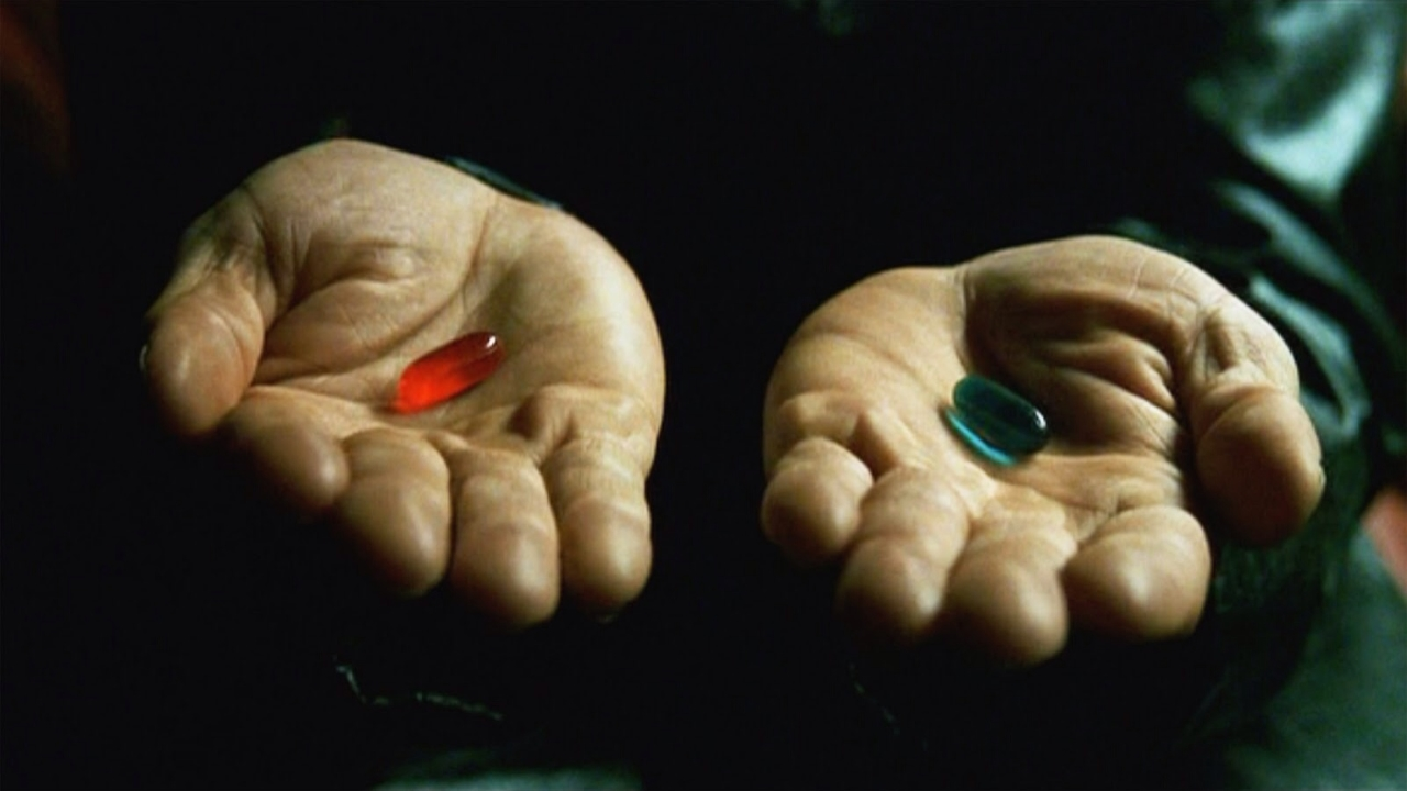 Matrix Red and Blue Pills